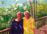 Two Dappled Women by Richard Glassman