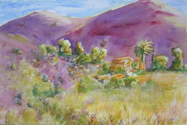 Desert Home by Sue Zinngrabe Gold