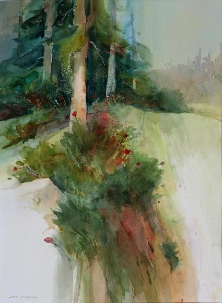 Honorable Mention - Evergreen by Joan McKasson