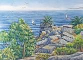 Sunken City- San Pedro by Carol Cottone-Kolthoff