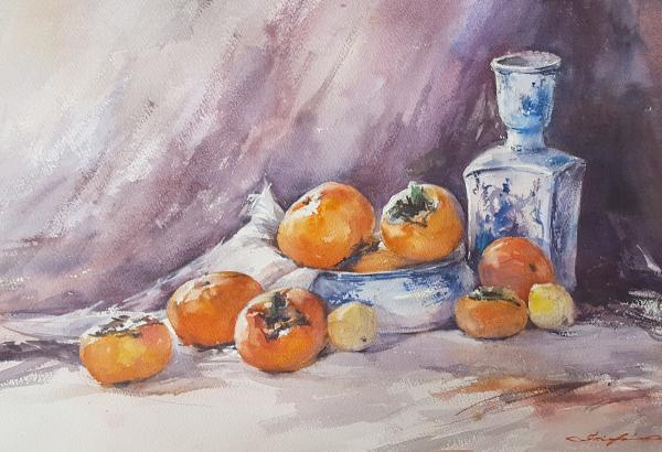 Persimmons From Addie by Shuang Li