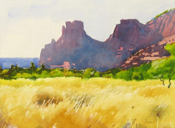Honorable Mention - Sedona Backlighted by Thomas Franco