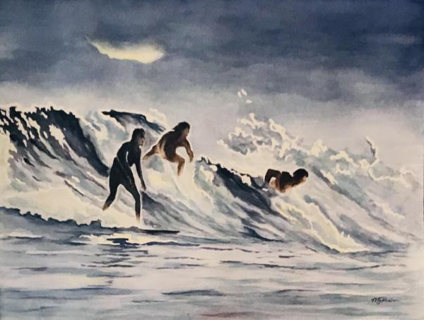 Night Surf by Maureen Price