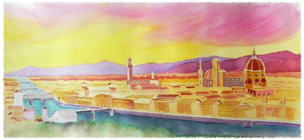 Magnificent Florence by Edward Kane