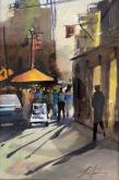 Third Place - Little Italy Farmer's Market by Luis Juarez
