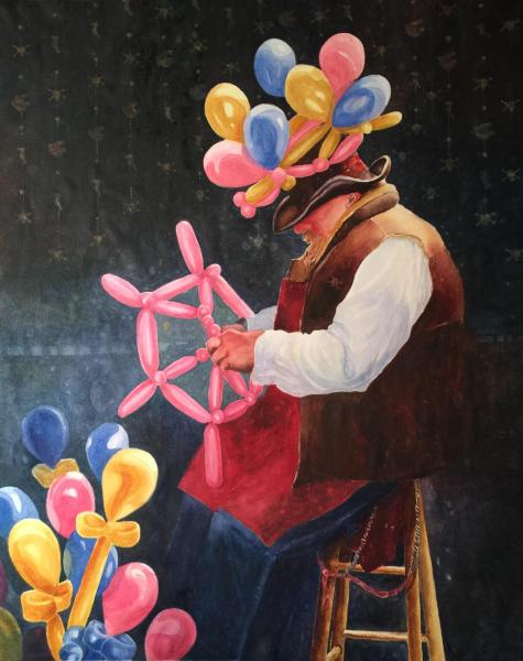 Balloon Man by Cynthia Roach