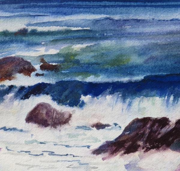 Breaking Waves by Mary Sievers