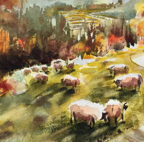 Best of Miniatures - Counting Sheep by Lorri Lynch
