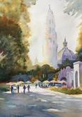 Afternoon at Balboa Park by Cynthia Roach