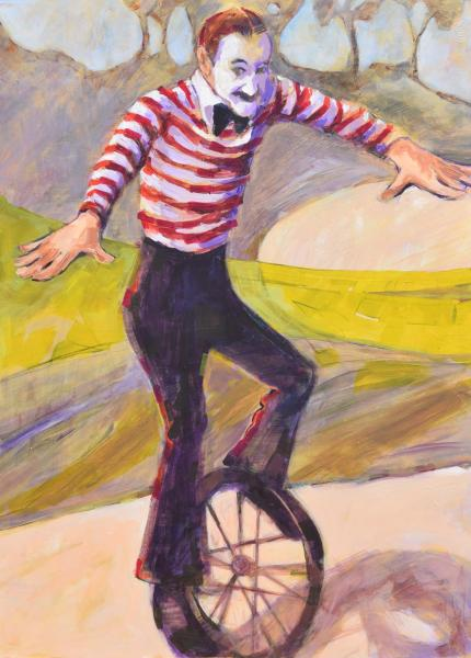 Unicycler by Vi Gassman