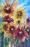 Sunflower Seeds by Lorri Lynch