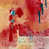 Tapestry in Red by Diana Ruark