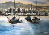 Third Place - San Diego Skyline by Luis Juarez