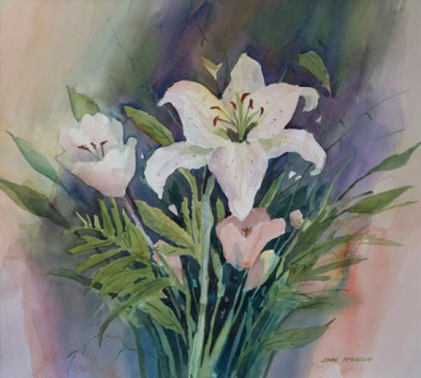 Garden Lilies by Joan McKasson
