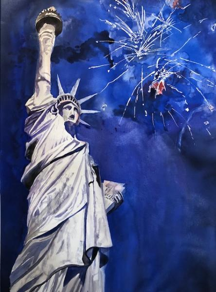 Lady Liberty by Roz Oserin