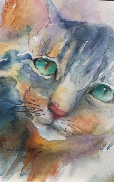 Cattitude by Sandra Seckington