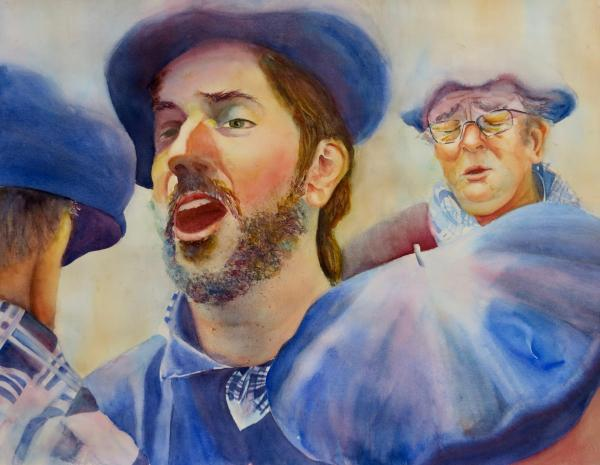 Basque Singers by Beverly Tuzin