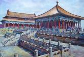Palace Museum, China 2 by Keming Chen