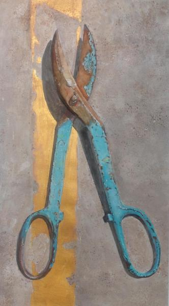 Best of Theme - My Father's Shears by Susan Hewitt