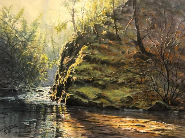 Honorable Mention - Kitchen Creek by Ski Torzeski