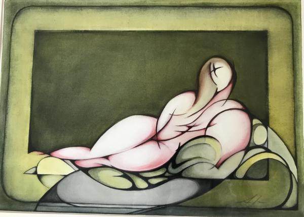 Nude in Repose II by Ann Slater