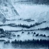 Yosemite Valley in Snow by Susan Mae Hull