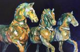 Triumphant Horses of Constantinople by Beverly Berwick
