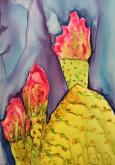 Prickley Pear Cactus by Abbyann Sisk