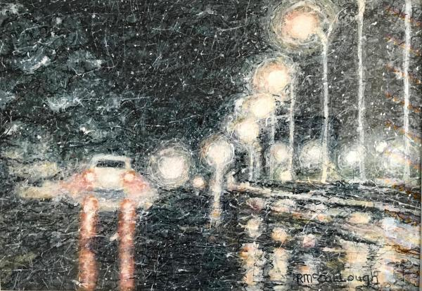 Bright Lights, Wet Streets by Rebecca McCullough