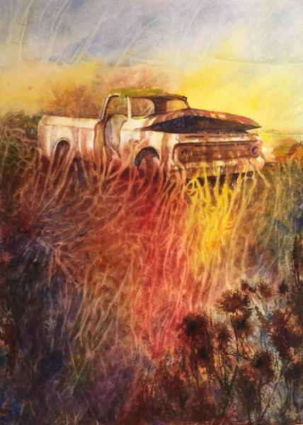 Rust in Peace by Cynthia Roach
