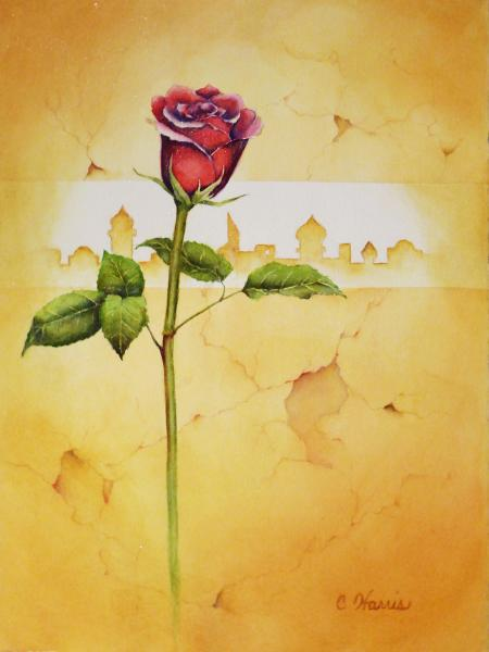 The Rose E'er Blooming by Carol Harris