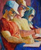 Honorable Mention,  - The Jurors by Julie Anderson