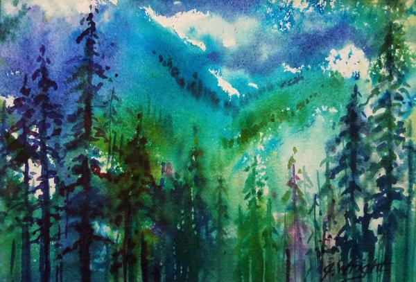 In The Forest Deep by Jami Wright