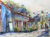 Spanish Village, Balboa Park by Joyce Trinh