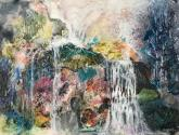 Mountain Waterfall by Mary Sue Compton