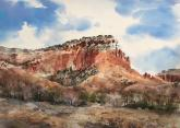 First Place,  - Pack's Point Above Ghost Ranch by Drew Bandish