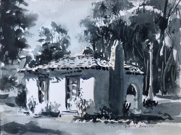 Third Place,  - Cottage Sketch by Drew Bandish