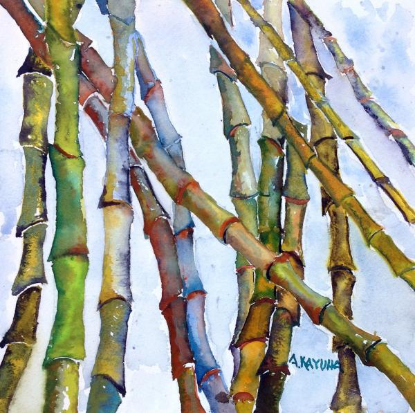 Blue Bamboo by Alice Kayuha
