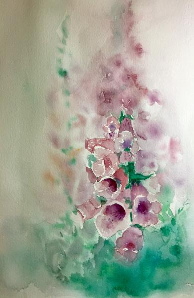 Nancy's Foxglove by Diane Moore