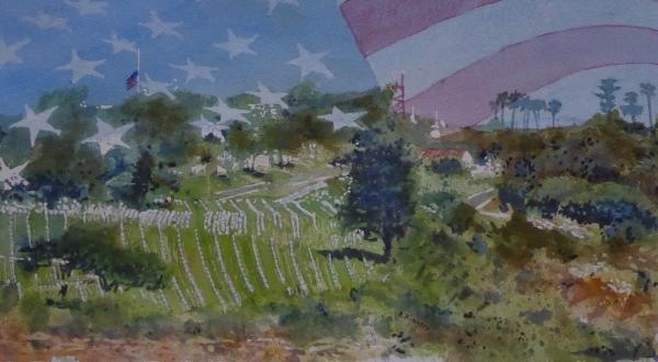 Fort Rosecrans - Rest by Ralph Kingery