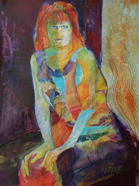 Girl With Red Hair by Joan Merrick