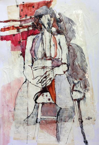 Seated No. 5 (Erika) by Marion Mettler
