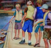 Summer Sailing by Julie Anderson