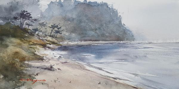 Quiet Side, Port Townsend by Shuang Li