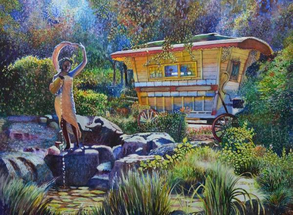 Myrtle Creek Garden 2 by Keming Chen