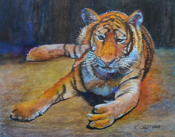 Tiger, Thailand 2 by Keming Chen