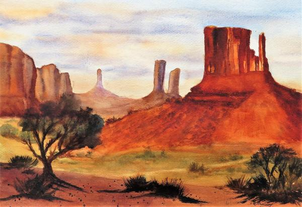 Monument Valley lll by Susan Wormsley