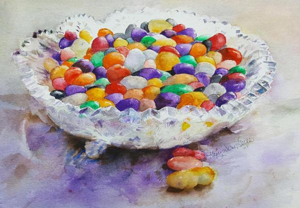 Bowl O' Jellies by Glory Giffin
