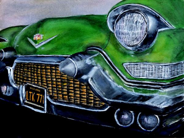 Old Caddy by Vykki Mende Gray