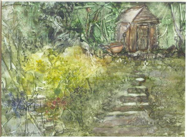 The Abandoned Garden by Susan Weinberg-Harter